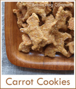 carrot cookies for dogs