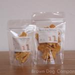 ブラウンドッグカンパニーの犬用クッキーパッケージ