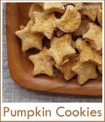 犬用クッキー(かぼちゃ)