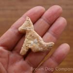 ヨーグルトクッキー(犬用クッキー)の大きさ
